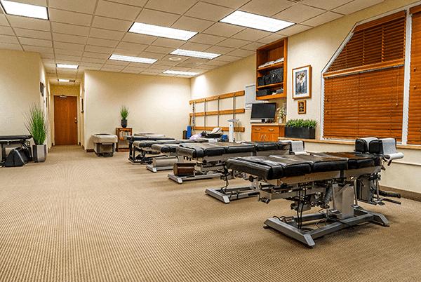 Chiropractor Sterling VA treatment room