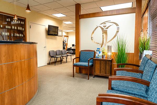 Chiropractor Sterling VA waiting room