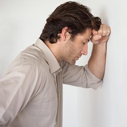 Erectile Dysfunction Sterling VA Frustrated Man